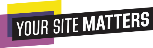 Your Site Matters logo (wide version)